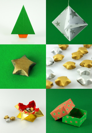 Christmas Origami Gallery