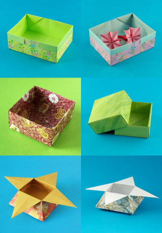 Origami Boxes Gallery
