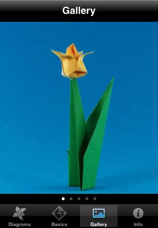 Origami Flowers Gallery